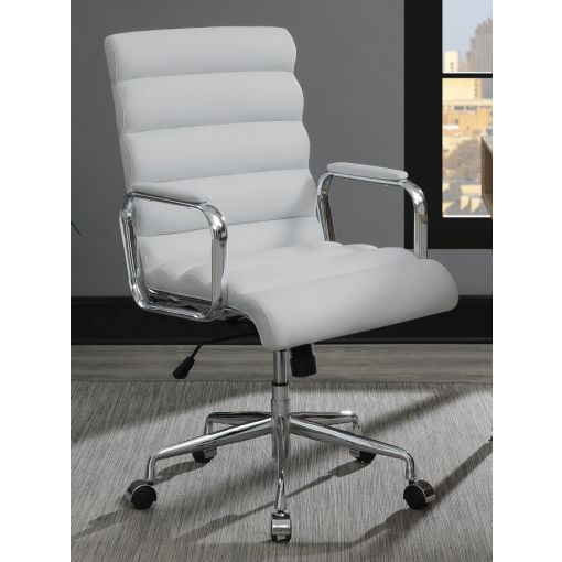 Brina Modern White Office Chair
