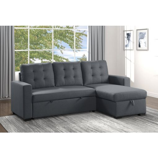Britton Sectional Sleeper With Storage