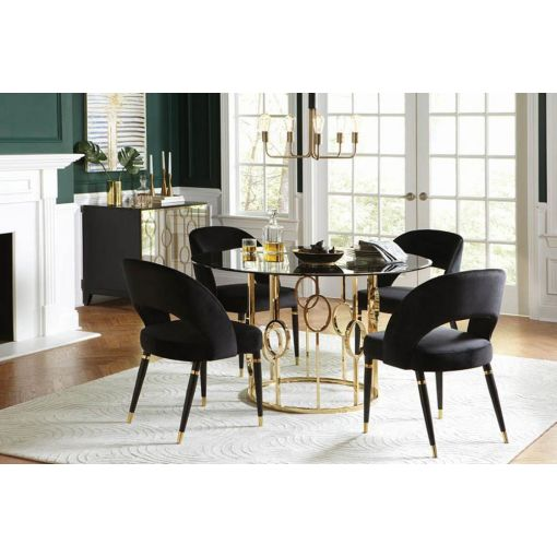 Burgues Modern Design Dining Table Set