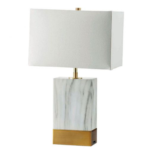 Circa Table Lamp With Gold Base