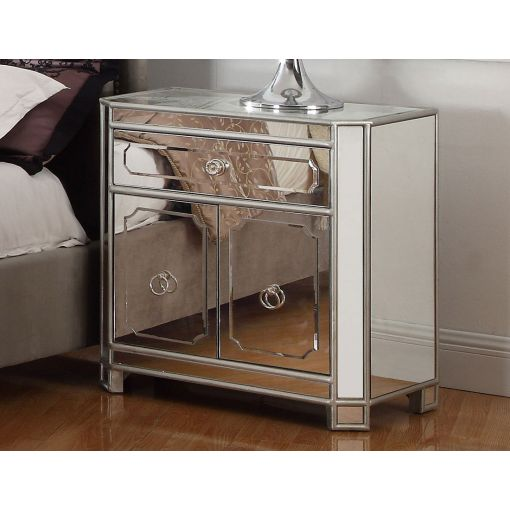 Concerto Mirrored Night Stand