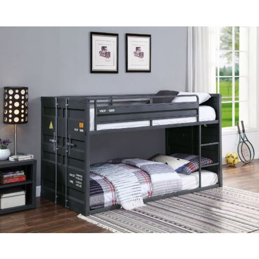 Container Grey Finish Bunkbed