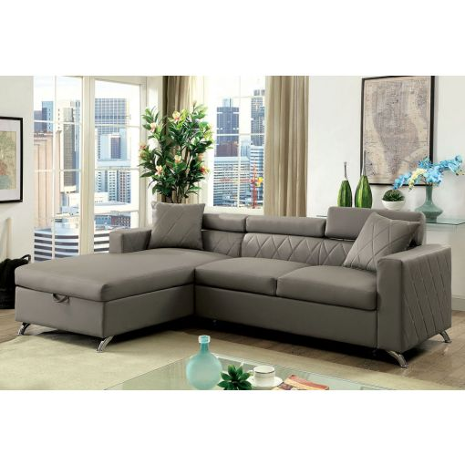 Conway Sectional Sleeper With Storage