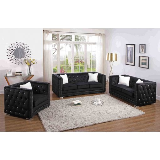 Corvus Modern Chesterfield Sofa