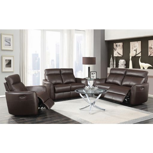 Drew Modern Power Recliner Sofa