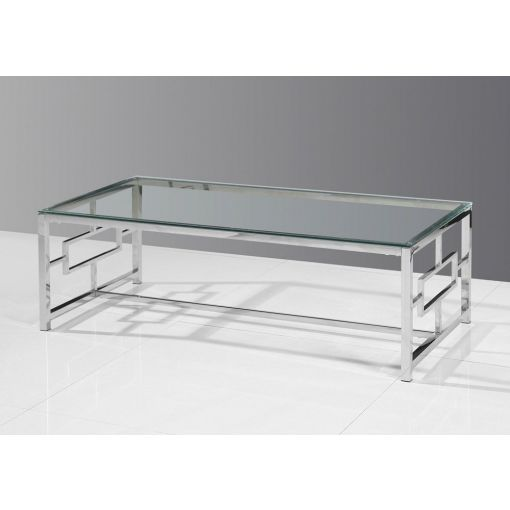 Enigma Glass Top Coffee Table