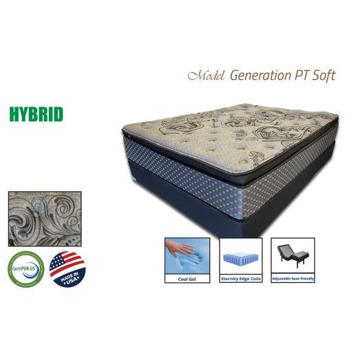 Generation Hybrid Mattress Pocket Coil