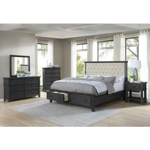 Grandeur Bed With Storage Drawers