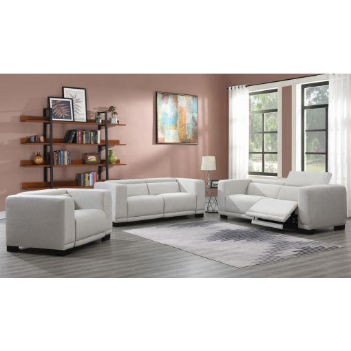 Graysen Modern Power Recliner Sofa