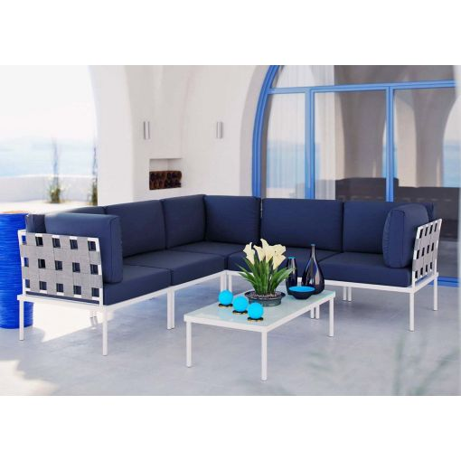 Harmony  Outdoor Sectional With Coffee Table