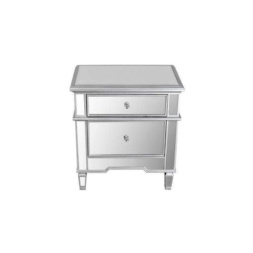 Ledger Mirrored Night Stand
