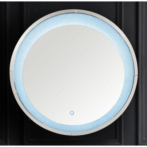 Liam Round LED Wall Mirror