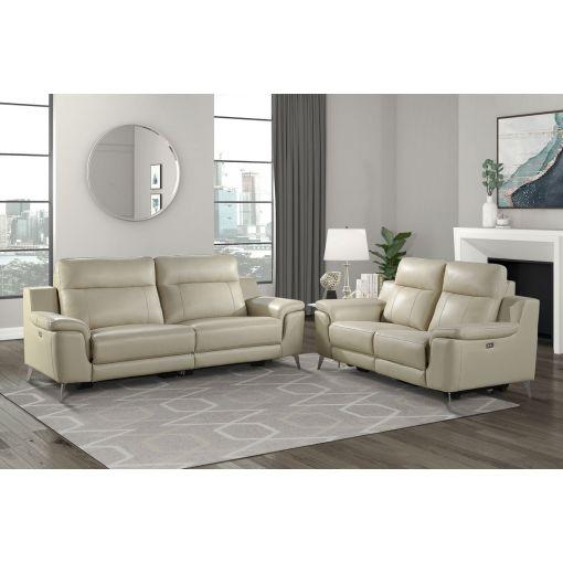 Ludovik Power Recliner Sofa Set