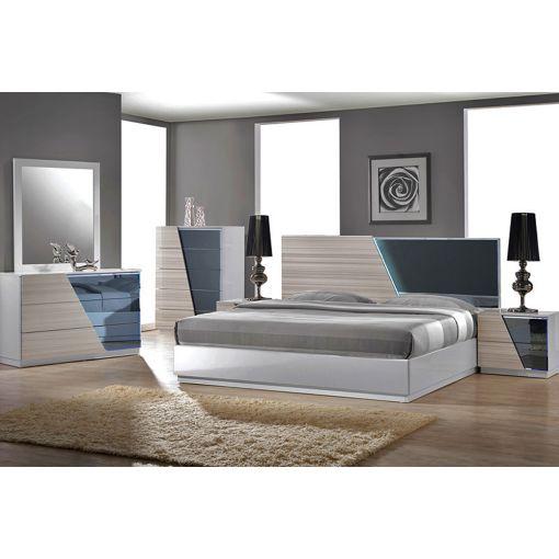 Manchester Modern Style Platform Bed