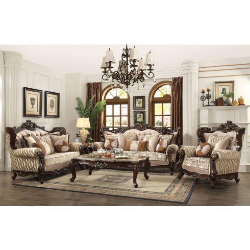 Mauzac Traditional Style Living Room