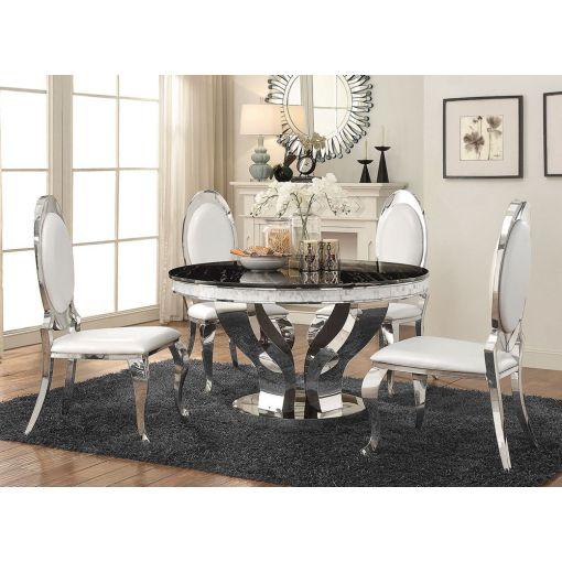 Midland Marble Top Modern Table Set