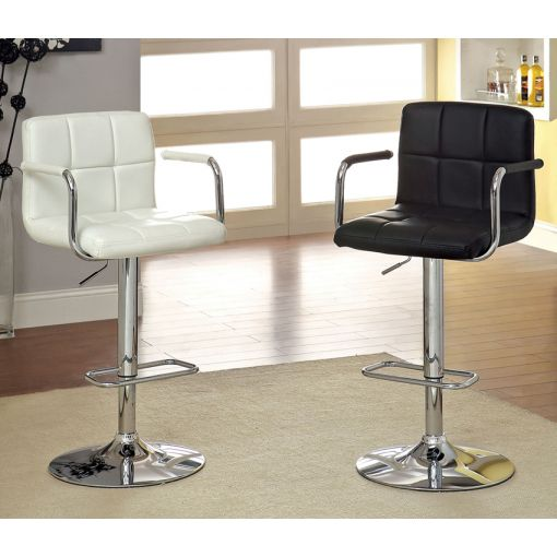 Modern Black and White Bar Stool BS 3150