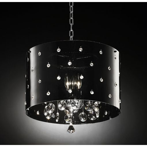 Star Ceiling Chandelier With Crystals