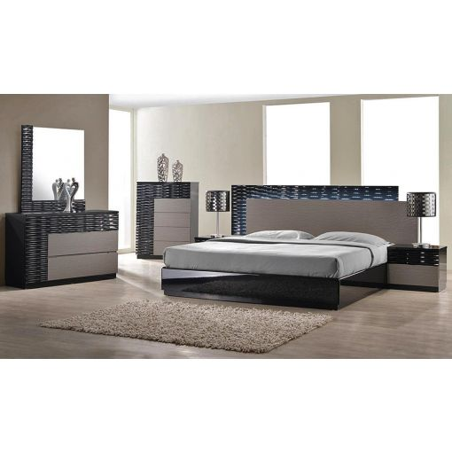 Onda Modern Platform Bed Collection