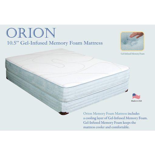Orion Gel Infused Memory Foam Mattress