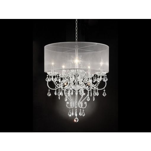Petal Crystal Ceiling Chandelier