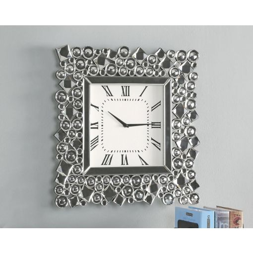 Pex Mirrored Wall Clock