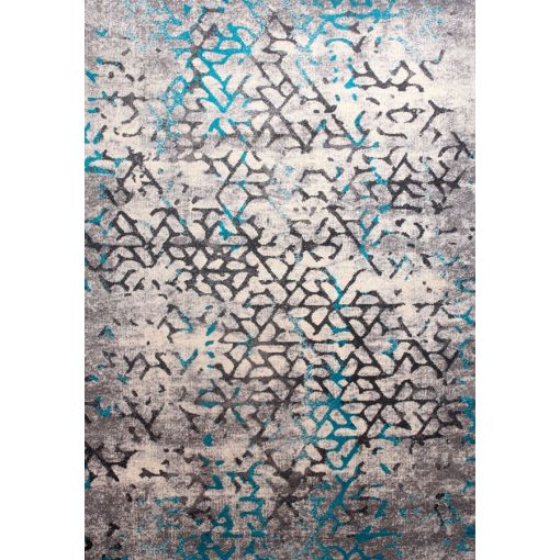 Phase Contemporary Light Blue Grey Rug