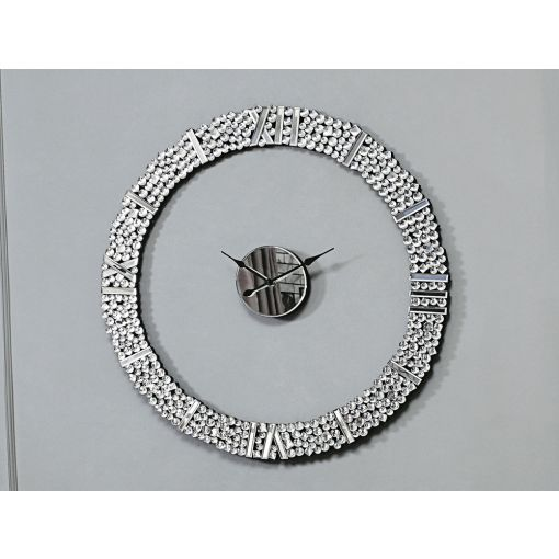 Radiance Mirrored Wall Clock