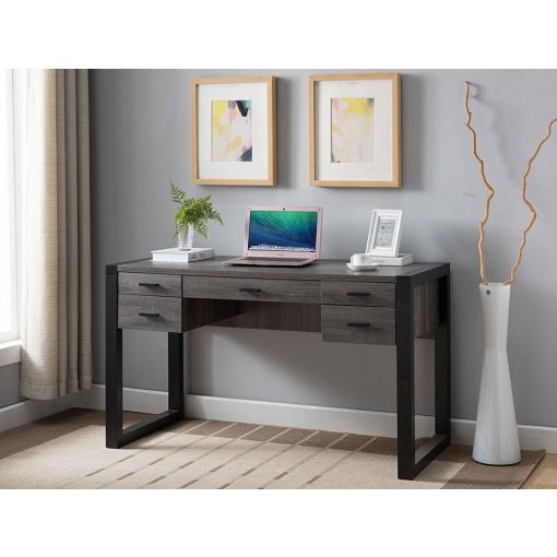 Ricky Rustic Modern Writing Desk