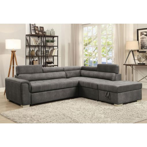 Ruben Sectional Sleeper With Storage