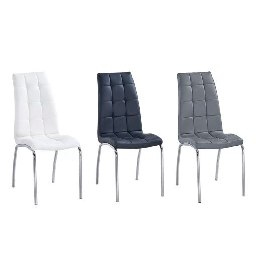 Rosa Leatherette Dining Chairs