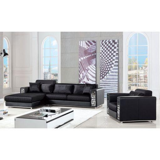 Rouge Modern Sectional Sofa Set