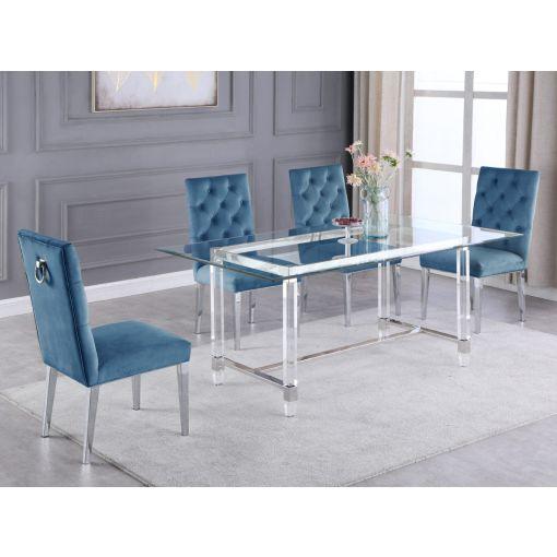 Savoy Acrylic Dining Table