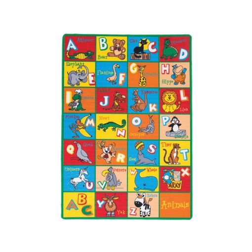 School Time Kids Room Fun Rug