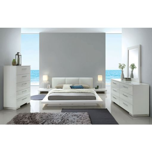 Shiro Modern Low Profile Platform Bed