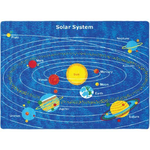 Solar System Kids Area Rug