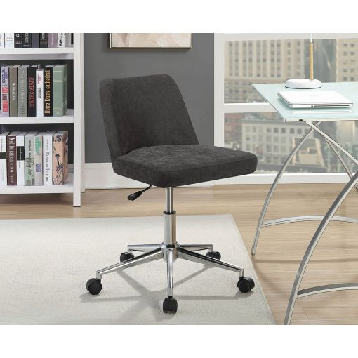 Somerton Charcoal Fabric Office Chair