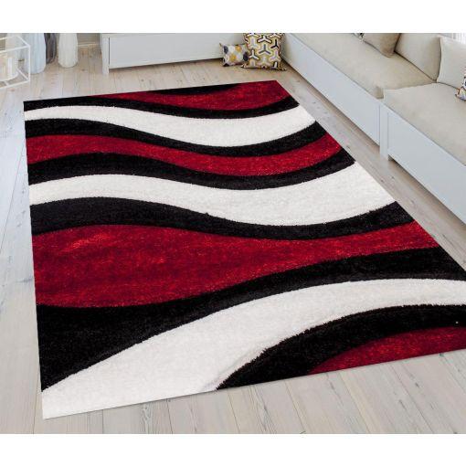 Sorrento 725 Red Shag Rug