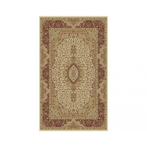 Heriz Cream Ornate Hand Tufted Rug