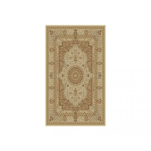 Tabriz Cream Ornate Area Rug