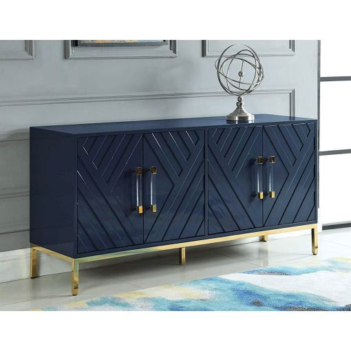 Tamari Navy Blue Finish Buffet