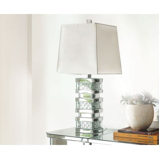 Tristan Mirrored Table Lamp