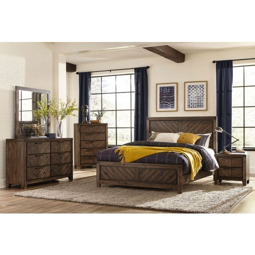 Vandenberg Transitional Style Bed