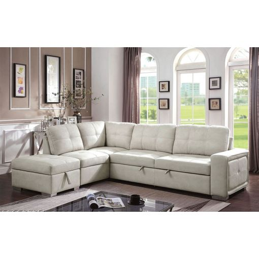 Volare Sectional Sleeper With Storage
