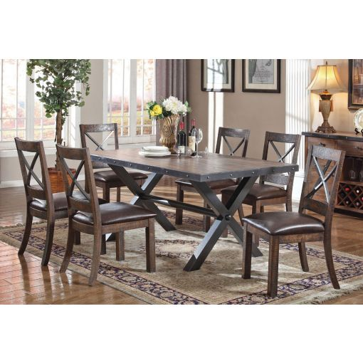 Voyager Industrial Style Dining Room Furniture