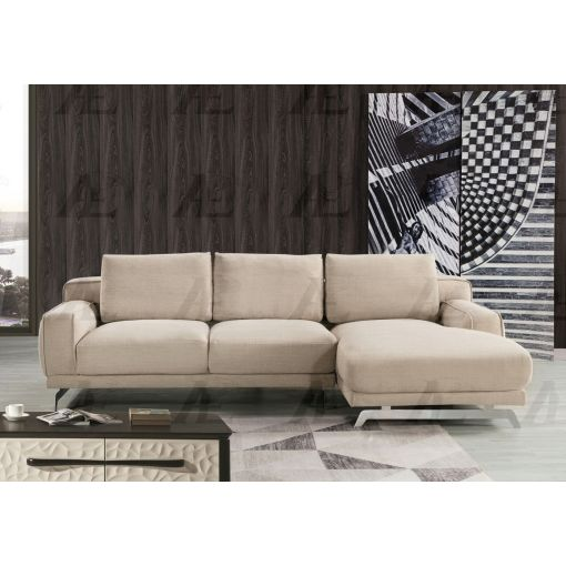 Xander Modern Beige Fabric Sectional