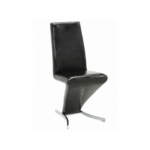 Zare Crocodile Textured Dining Chair