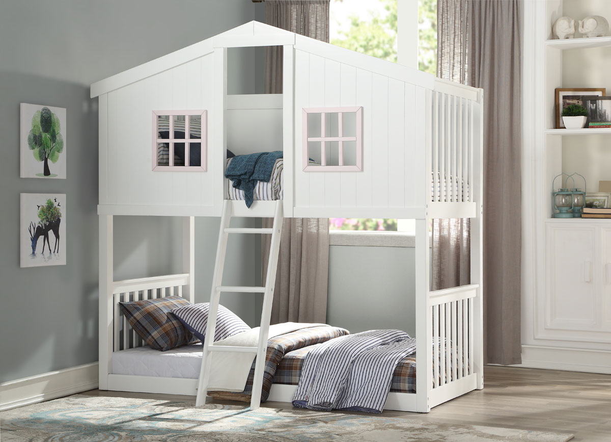 Picture of: Fairfax White House Bunkbed