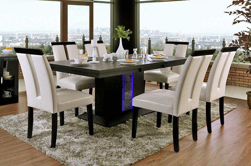 Geline Modern Dining Table Set
