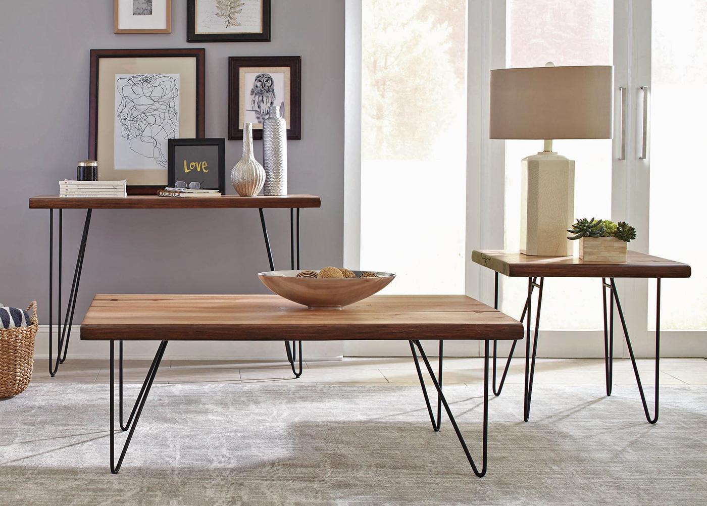- Lorri Rustic Modern Coffee Table